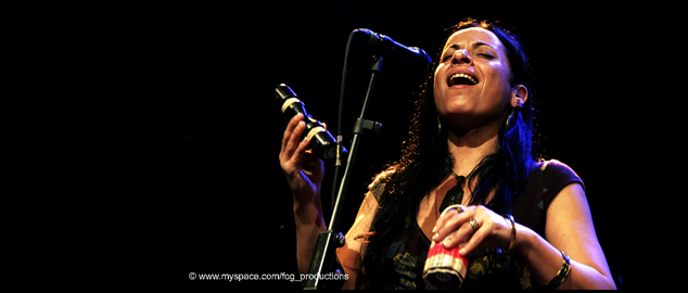Karen on Tour with Avishai Cohen